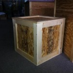 Custom Shipping Crate for Mayan Artwork