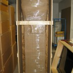 Shipped Grandfather clock - packed and crated