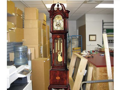 Shipped Grandfather Clock to West Virginia